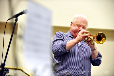Jazz Trumpet Player Bruce Adams