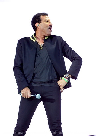 Lionel Richie at the Liberty Stadium
