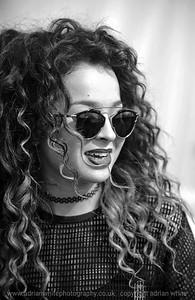 Rita Ora Backstage