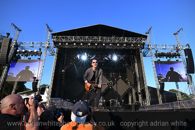 Frontman Kelly Jones, Stereophonics playing Singleton Park in the Evening sunshine.  Copyright © 2019 by Adrian White  Photography, all rights reserved. For permission to publish - contact me via www.adrianwhitephotography.co.uk Please respect copyright laws.