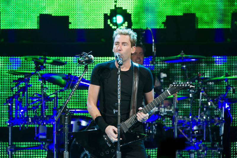 Nickelback at the Portland Rose Garden Arena