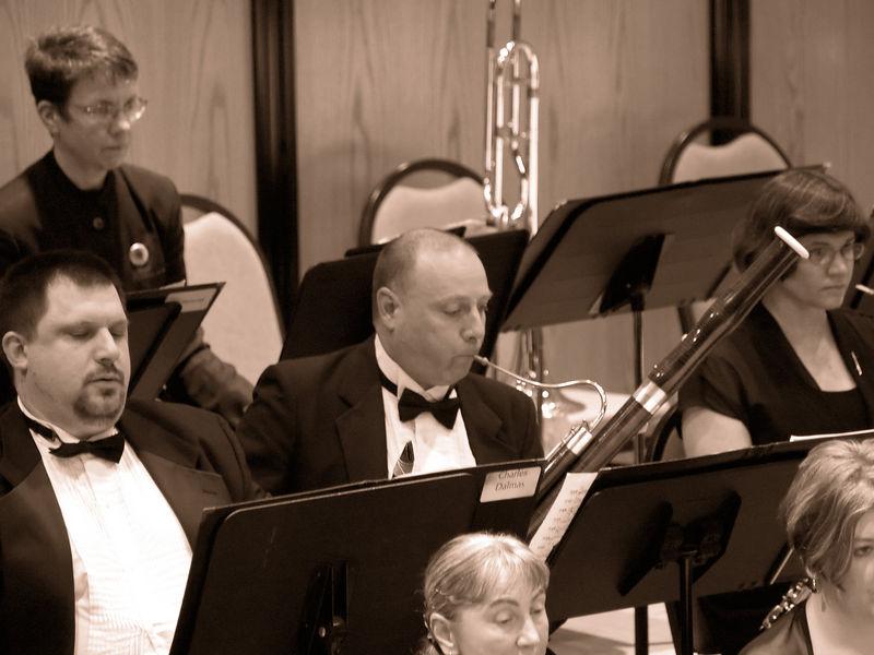 Principal bassoonist Richard Lloyd solos during the Piano Concerto.