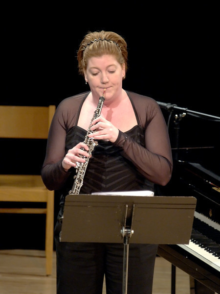 Yootha is the principal oboist for the orchestra and is quite the player.  She performed a solo piece called Gabrielle's Oboe.