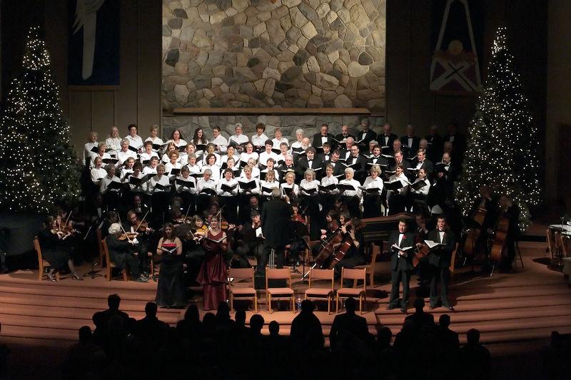 "The ""Hallelujah"" chorus."