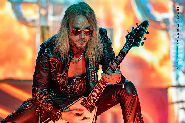 Richie Faulkner of Judas Priest