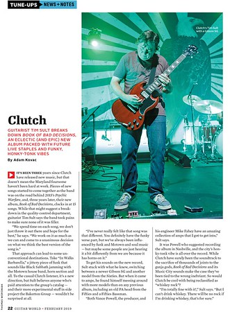 Guitar World - February 2019