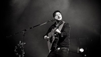 Mumford and Sons headline the Stopover festival outside Aviemore.  Picture: Paul Campbell