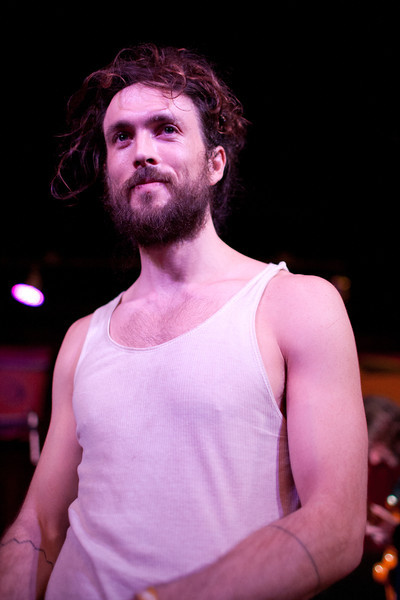 Alex Ebert of Alexander and Edward Sharpe and the Magnetic Zeroes performing at The Phoenix. SXSW 2011.<br /> 3/16/2011<br /> <br /> ©Hutton Supancic/ WireImage