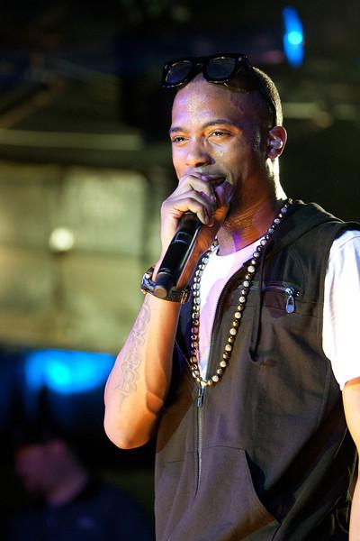 B.o.B. performing at La Zona Rosa. SXSW 2011.<br /> 3/17/2011.<br /> <br /> ©Hutton Supancic/ WireImage
