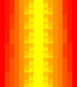 Melakarta chart, red/yellow