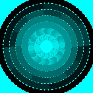 Melakarta chart in circular form