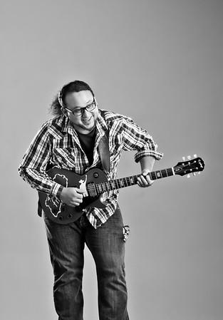 Portraits of musicians in Niagara, Ontario.