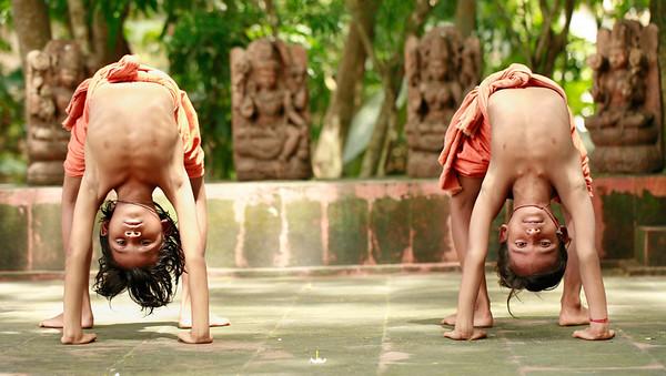 Morning Exercises Konarik, India