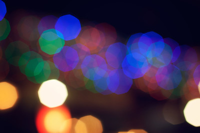 Bokeh Me Baby! I love bokeh. It's that blurry, impressionistic, yet strangely distinct thing lights can do if you shoot them a little out of focus. Impressionistic art for a digital age!    ©Karen Hutton - Creative Commons (CC BY-NC 3.0)