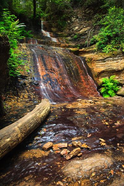 Middle Golden Cascade Falls