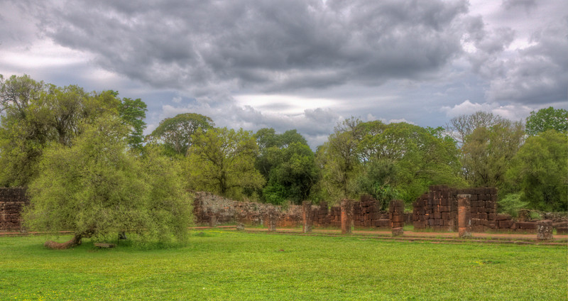 HDR photo at the San Ignacio missions. I liked all of the greens in this shot.