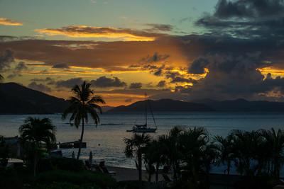 Sunset view from ER residence