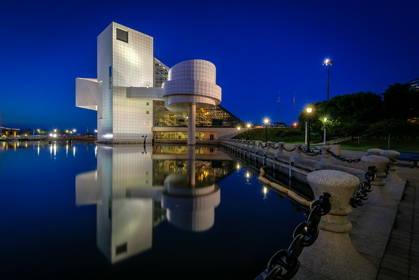 Rock Hall at Blue Hour