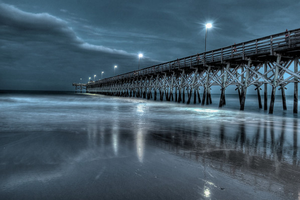 Nighttime at the Pier