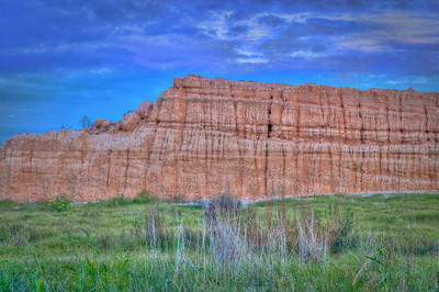 Just as the sun was setting, we found this rock formation in Katy, TX. It was getting darker and darker by the minute so we had to get our shots fast. HDR photo.
