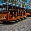Tour buses, Corregidor Philippines