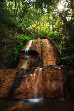 Upper Golden Cascade Falls