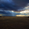 Weather change on the Serengeti