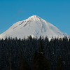 3/10/11 Thank you all for the comments yesterday on my Mt. Hood Shadow photo! Here is a shot I took of one of my favorit subjects this pass weekend. This is on from the East side most of the views you see are from the West side.    Mt Hood from 5-mile fire lookout tower  in the Mt. Hood national forest.