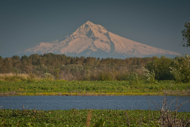 Mt Hood from Smith lake