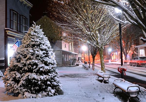 December Night in Port Deposit