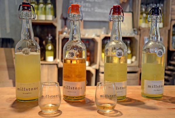 Tasting room at Millstone Cellars