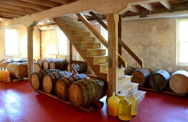 Aging Room at Millstone Cellars