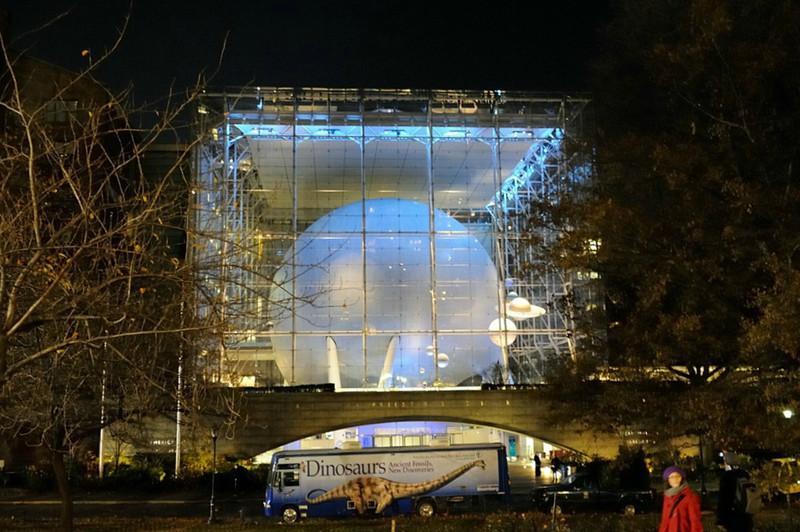 Hayden Planetarium - NYC 2012