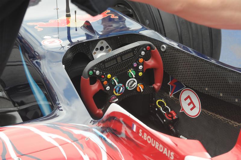 Red Bull F1 Racing Cockpit - 2008