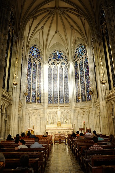 The Lady Chapel in St. Patrick's Cathedral, NYC
