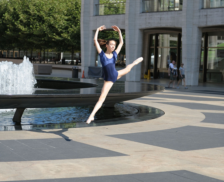 Lincoln Center Plaza, NYC - July 2011