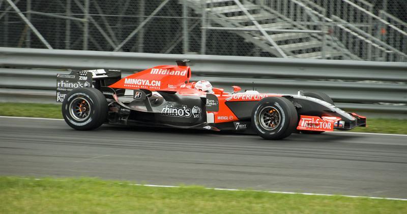 Glowing Brake Rotors - Canadian F1
