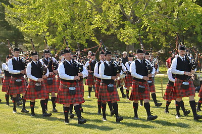 Scottish Festival Pipes