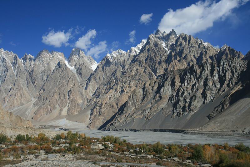 Karakorum Mountains, Passu, Pakistan.