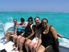 Carla, Roberta, Tina, Hugh & Jennifer on our trip to swim with the stingrays
