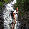 Captured by Jon Melton<br /> Ka'au Trail - Third Waterfall