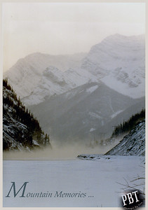 "Mountain Memories ... ""just a couple hours outside of Calgary, Alberta,  when I picked up an Minolta X700 for the first time  and started photographing everything in my path."" February 1988"