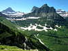 View from Highline Trail, Glacier N.P.