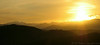 Sunrise on the Foothills Parkway, Smoky Mountains N.P.