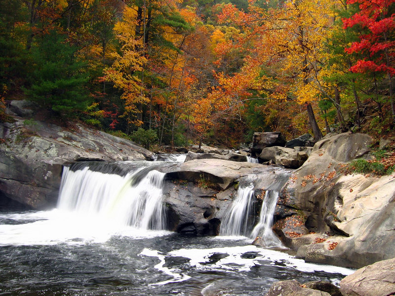 Baby Falls on the Tellico River, Cherokee N.F.