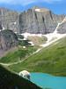 Mountain goat at Cracker Lake, Glacier N.P.