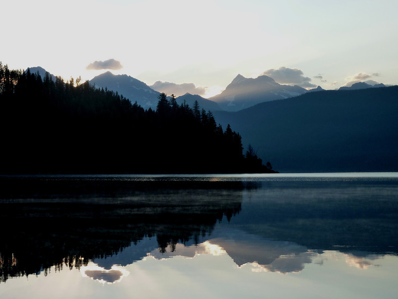 Morning Light on Lake Mcdonald, Glacier N.P.