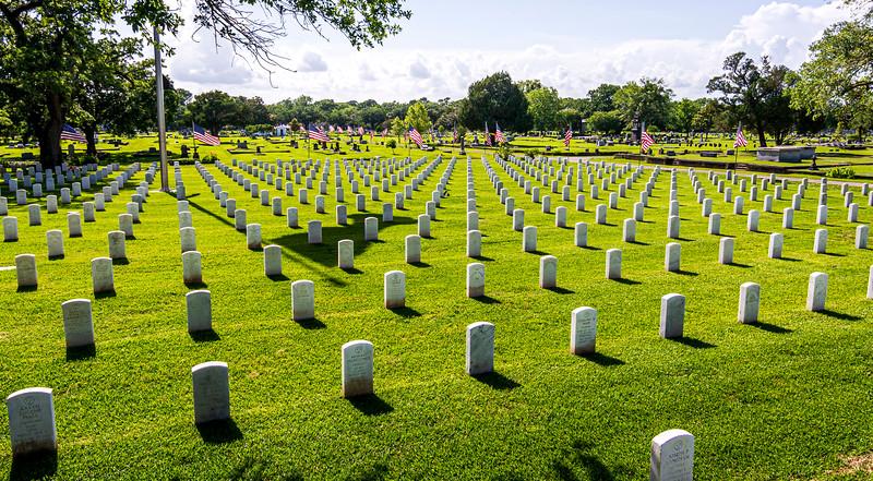 National  Cemetery  - Mobile AL - Memorial Day 2020