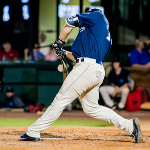 Mobile BayBears vs. Pensacola Blue Wahoos in a Home Game Series of the 2017 Season at Hank Aaron Stadium.