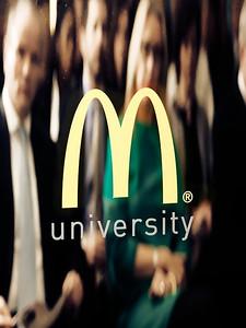 McDonalds University Opening